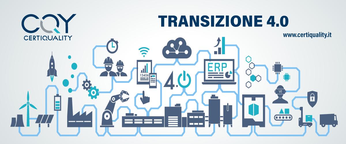 Transizione 4.0 – il nuovo piano da novembre al 2022