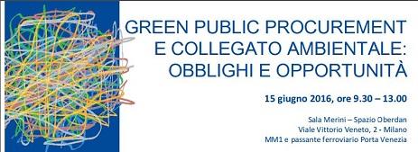 Green Public Procurement e collegato ambientale
